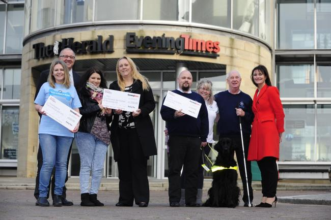 In the Press: Dedicated volunteers given cash boost – thanks to Evening Times Community Chest Appeal