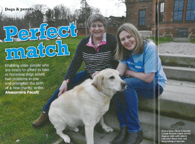 In the Press: Dogs Monthly Magazine