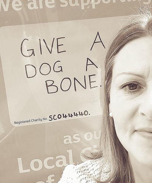 Give a Dog a Bone secures 2nd year Local Charity Partnership with the largest Sainsbury's store in Scotland