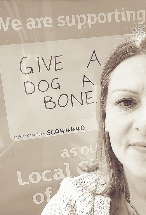 Just in... Give a Dog a Bone secures 1 year Local Charity Partnership with the largest Sainsbury's store in Scotland!!!