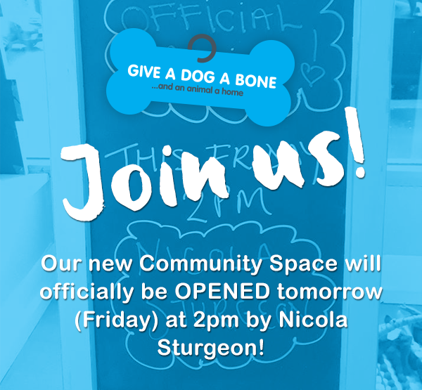 Nicola Sturgeon opened our new community space in Shawlands