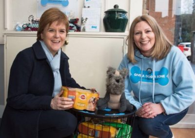 The charity has been praised by Nicola Sturgeon, who attended the centre's launch on Friday.
