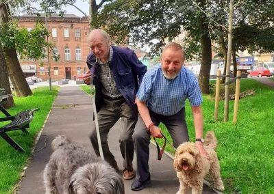 Give a Dog a Bone and an animal a home   Dog Walk