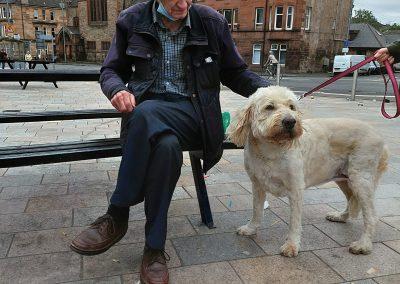 Give a Dog a Bone and an animal a home   Dog Walk   Douglas