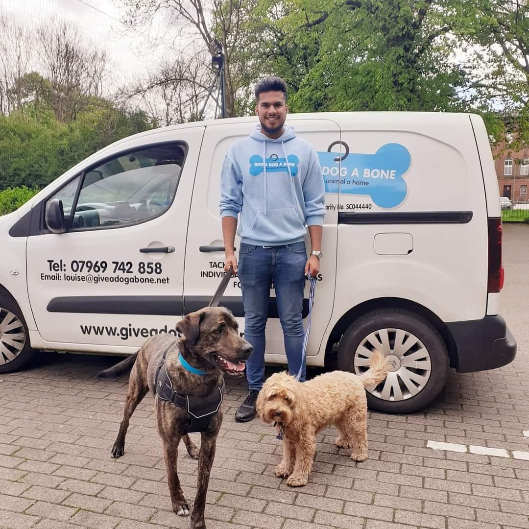 Give a Dog a Bone and an animal a home   Team